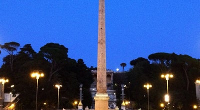 Photo of Monument / Landmark Obelisco Flaminio at Piazza Del Popolo, Rome 00100, Italy