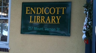 Photo of Library Endicott Library at 257 Mount Vernon St, Dedham, MA 02026, United States