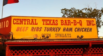 Photo of American Restaurant Central Texas Style Barbecue at 4110 Broadway St, Pearland, TX 77581, United States