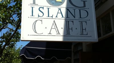 Photo of American Restaurant Fog Island Cafe at 7 S Water St, Nantucket, MA 02554, United States