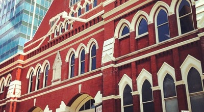 Photo of Theater Ryman Auditorium at 116 Fifth Ave N, Nashville, TN 37219, United States