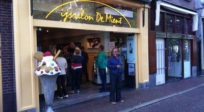 Photo of Restaurant Ijssalon de Mient at Mient 20, Alkmaar 1811 NC, Netherlands