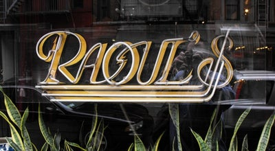 Photo of French Restaurant Raoul's at 180 Prince St, New York, NY 10012, United States
