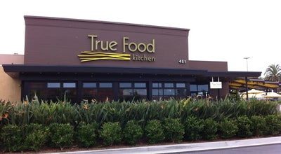 Photo of American Restaurant True Food Kitchen at 451 Newport Center Dr, Newport Beach, CA 92660, United States