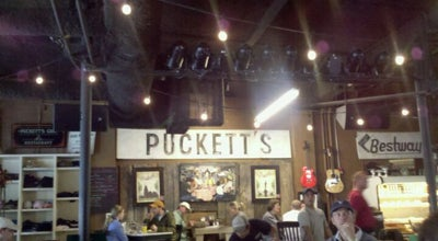 Photo of Southern / Soul Food Restaurant Puckett's Grocery & Restaurant at 120 4th Ave South, Franklin, TN 37064, United States