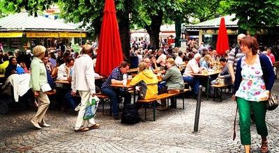 Photo of German Restaurant Biergarten Viktualienmarkt at Viktualienmarkt, Munich 80331, Germany