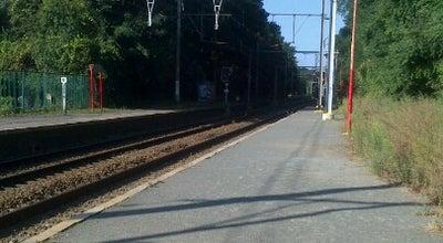 Photo of Train Station Gare de Saint-Job / Station Sint-Job at Chaussée De Saint-jobsteenweg, Uccle 1180, Belgium