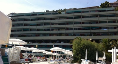 Photo of Beach Capo Nero at Via Aurelia Levante 38-76, Ospedaletti 18014, Italy