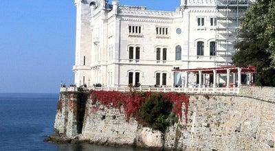 Photo of Castle Castello di Miramare at Viale Miramare, 325, Trieste 34016, Italy