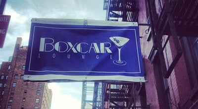 Photo of Restaurant Boxcar Lounge at 168 Avenue B, New York, NY 10009, United States