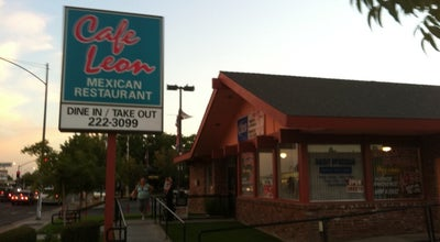 Photo of Other Venue Cafe Leon Mexican Restaurant at 4239 N Blackstone Ave, Fresno, CA 93726