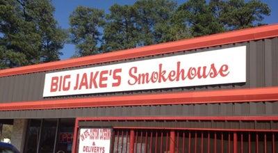 Photo of American Restaurant Big Jake's Smokehouse at 2610 New Boston Rd, Texarkana, TX 75501, United States