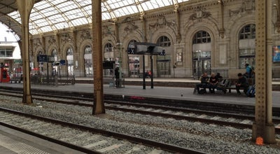 Photo of Train Station Gare SNCF de Nice Ville at Avenue Thiers, Nice 06000, France