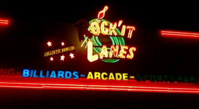 Photo of Bowling Alley Rockit Lanes at 513 Beckrich Rd, Panama City Beach, FL 32407, United States