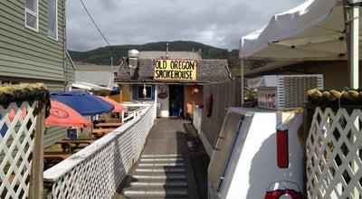 Photo of Seafood Restaurant Old Oregon Smoke House at 120 Oregon Coast Hwy., Rockaway Beach, OR 97136, United States