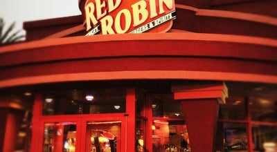 Photo of American Restaurant Red Robin Gourmet Burgers at 12007 Harbor Blvd, Garden Grove, CA 92840, United States