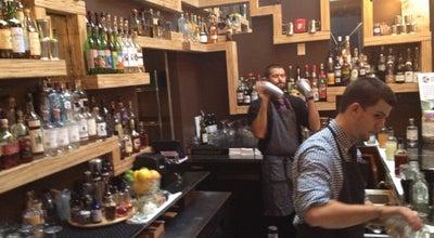 Photo of American Restaurant Backbar at 9 Sanborn Ct, Somerville, MA 02143, United States