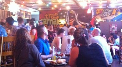 Photo of Mexican Restaurant Tres Carnales Taqueria at 10119 100a Street, Edmonton, AB T5J 0C8, Canada