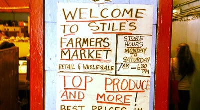 Photo of Farmers Market Stile's Farmers Market at 352 W 52nd St, New York, NY 10019, United States