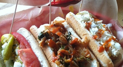 Photo of American Restaurant Dirty Frank's Hot Dog Palace at 248 S 4th St, Columbus, OH 43215, United States