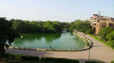 Photo of Lake Hauz Khas Lake at Hauz Khas Tank, Hauz Khas, New Delhi, India