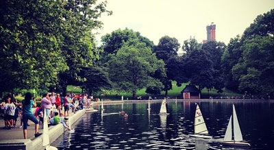 Photo of Lake Central Park - Conservatory Water at 1 E 74th St, New York, NY 10021, United States
