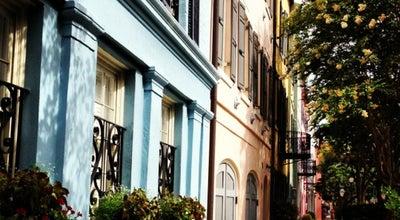 Photo of Monument / Landmark Rainbow Row at 83 - 107 East Bay Street, Charleston, SC 29415, United States
