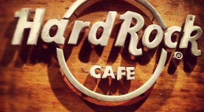 Photo of American Restaurant Hard Rock Cafe at Cra. 7 No. 32 10 Plaza De La Aduana, Cartagena, Colombia