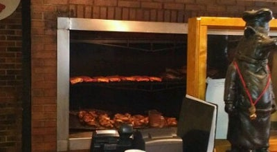 Photo of American Restaurant Hillbilly's Barbeque & Steaks at 930 E Garrison Blvd, Gastonia, NC 28054, United States