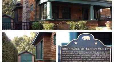 Photo of Tourist Attraction Hewlett Packard Garage at 367 Addison Ave, Palo Alto, CA 94301, United States