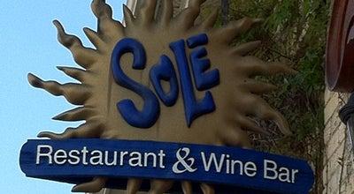 Photo of Mediterranean Restaurant Sole Restaurant and Wine Bar at 83 Erb St W, Waterloo N2L 6C2, Canada