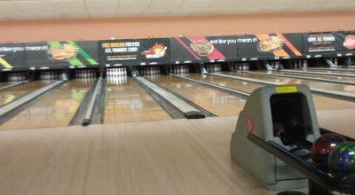 Photo of Bowling Alley Bowlmor AMF Lewisville Bowling lanes at 1398 W Main St, Lewisville, TX 75067, United States