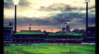 Photo of Cricket Ground Sydney Cricket Ground at Driver Ave, Moore Park, Ne 2021, Australia