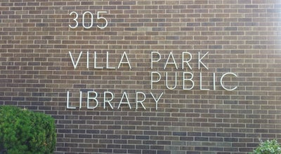 Photo of Library Villa Park Public Library at 305 S Ardmore Ave, Villa Park, IL 60181, United States