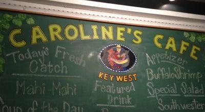 Photo of American Restaurant Caroline's Cafe at 310 Duval Street, Key West, FL 33040, United States