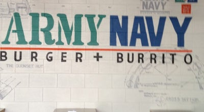 Photo of Burger Joint Army Navy Burger + Burrito at Ground Flr, Crossroads, Taguig City, Philippines