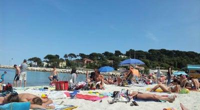 Photo of Beach Plage de la Salis at 30 Boulevard James Wyllie, Antibes 06160, France