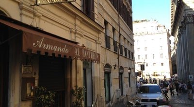Photo of Italian Restaurant Da Armando al Pantheon at Salita De' Crescenzi 31, Rome 00186, Italy