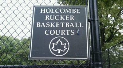 Photo of Basketball Court Rucker Park Basketball Courts at 2930 8th Ave., New York, NY 10039, United States