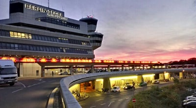 Photo of Airport Flughafen Berlin-Tegel Otto Lilienthal (TXL) at Flughafen Tegel, Berlin 13405, Germany