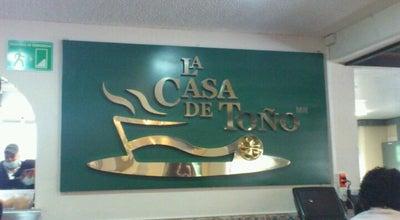 Photo of Mexican Restaurant La Casa de Toño at Av. Gulliermo Massieu Helguera 86, Gustavo A. Madero 07320, Mexico