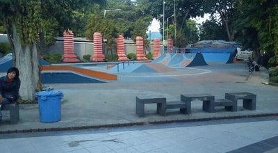 Photo of Skate Park Bungkul Skate Park at Taman Bungkul, Surabaya, Indonesia