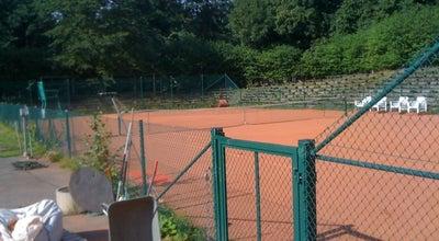 Photo of Tennis Court Taivallahden tenniskeskus at Eteläinen Hesperiankatu 40, Helsinki 00100, Finland
