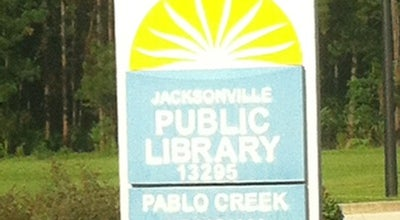 Photo of Library Jacksonville Public Library Pablo Creek Regional Branch at 13295 Beach Blvd, Jacksonville, FL 32246, United States