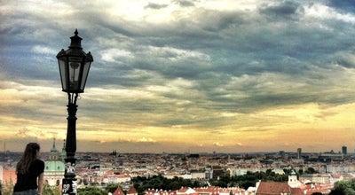 Photo of Scenic Lookout Prague Castle View Point at Ke Hradu, Praha, Czech Republic