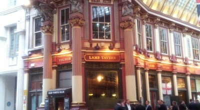 Photo of Bar The Lamb Tavern at 10-12 Leadenhall Market, London EC3V 1LR, United Kingdom