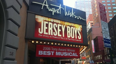 Photo of Theater August Wilson Theatre at 245 W 52nd St, New York, NY 10019, United States