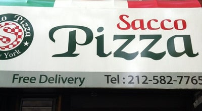 Photo of Italian Restaurant Sacco Pizza at 819 9th Ave, New York City, NY 10019, United States
