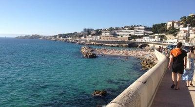 Photo of Beach Plage du Prophète at Marseille 13007, France