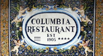 Photo of Cuban Restaurant The Columbia Restaurant at 2117 East 7th Avenue, Tampa, FL 33605, United States